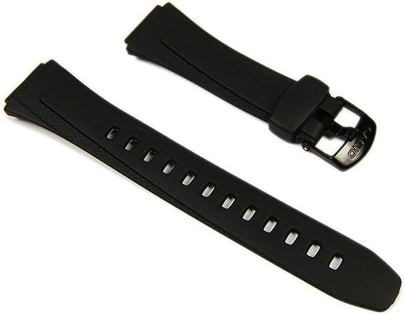 Casio Bracelet de Montre Resin W 755, W 752, W 753: Amazon  Ba1uC