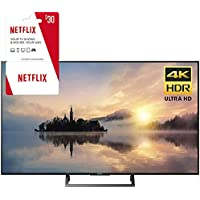 Sony KD-55X720E 55 Class 4K HDR Ultra HD TV w/ 3 Month Netflix Subscription