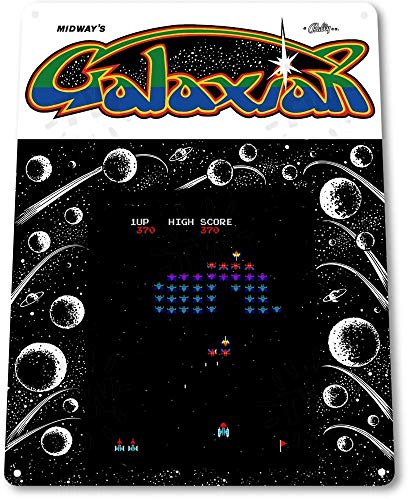 Tin Sign 8x12 inches TIN Sign Galaxian Arcade Shop for sale  Delivered anywhere in Canada