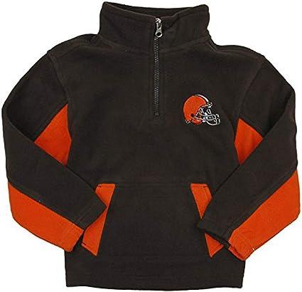 NFL Youth Cleveland Browns Full Zip Helmet Masked Hoodie