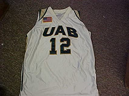 promo code 5c3de 1f505 UAB Blazers Jersey #12 University of Alabama at Birming ...