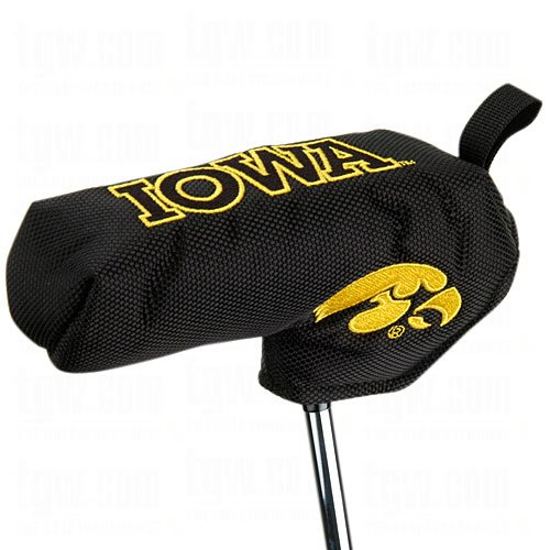 Team Effort Iowa Hawkeyes Shaft Gripper Blade Putter - Golf Hawkeyes Iowa Putter