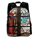 The Children's Stained Glass Church Window Stained Glass Backpack