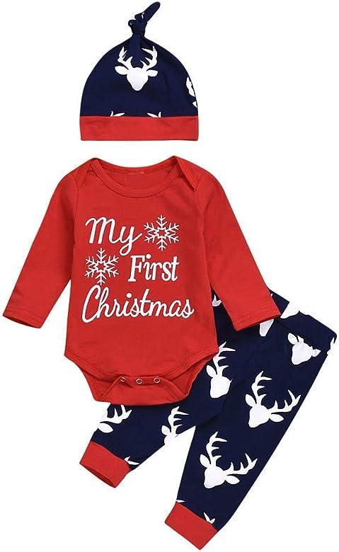 Conquro Mi Primer Disfraz navideño Navidad bebé niño niña Traje ...