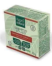 Shampoo Sólido Vegano Boni Natural com Manteiga de Cupuaçu para Hidratação e Brilho, Sem Silicones, Sem Sulfatos, Sem Parabenos, Boni Natural, Verde, BONI NATURAL