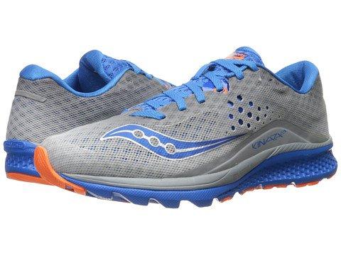 (サッカニー) SAUCONY メンズランニングシューズスニーカー靴 Kinvara 8 [並行輸入品] B06XYG2DQP 29.0 cm D - M Grey/Blue/Orange