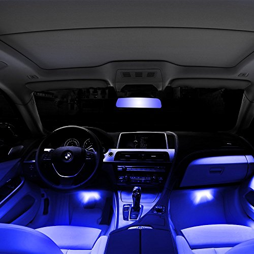 thunder 12v 43 led car interior decorative atmosphere neon light lamp best in automotive. Black Bedroom Furniture Sets. Home Design Ideas