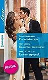 Fiancés d'un soir - Un contrat scandaleux - L'amant espagnol par Marinelli