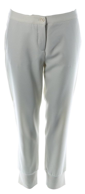 Marc Aurel Damen Hose Größe 40 Weiß (weiß)