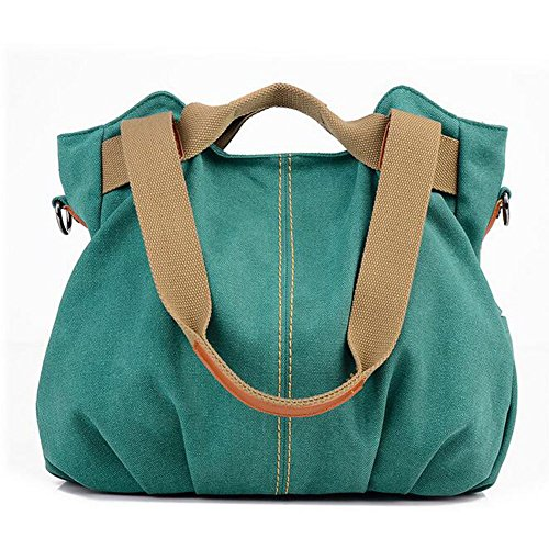 A Borsa Fashion Femminile Tracolla Tracolla A Di Borsa A Borsa Fashion Tela Green Tracolla Bag Fashion YTn07xz
