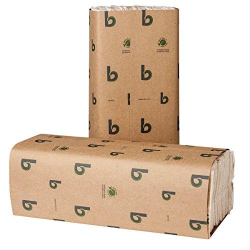 Boardwalk BWK11GREEN Boardwalk Green C-Fold Towels, Natural White, 10 1/8 x 13, 200 per Pack (Case of 12 -