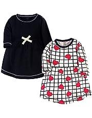 Touched by Nature Girls (bebés, niños, jóvenes) Vestidos de algodón orgánico