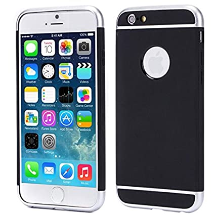 Amazon com: MetroPCS iPhone 6S Case, Shockproof Hybrid Case Dual