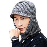 JOYEBUY Warm Knitted Balaclava Beanie Hat Windproof