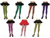 Leg Avenue Womens Nylon Striped Tights