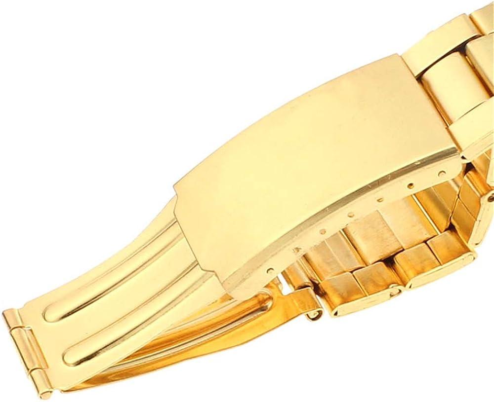 Montre Chrono 2020 Nouvelle Montre-Bracelet de Sport en Acier Inoxydable Bracelet en Or Grand Cadran Montre Montre dorée Dames Montre à Quartz Or1