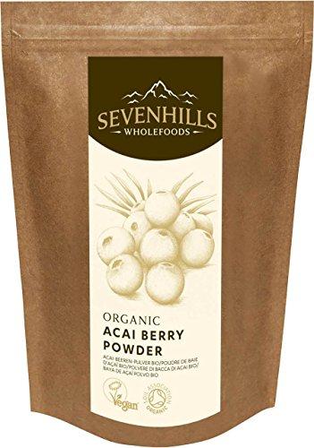 Sevenhills Wholefoods Organic Raw Acai Berry Powder 250g