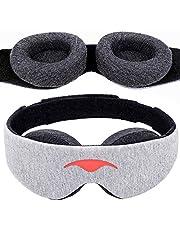 Manta Sleep Mask - 100% Blackout Eye Mask - Zero Eye Pressure - Adjustable Eye Cups - Guaranteed Deepest-Possible Rest - Perfect Sleeping Mask for Light Sleepers, Travelers, Midday Nappers