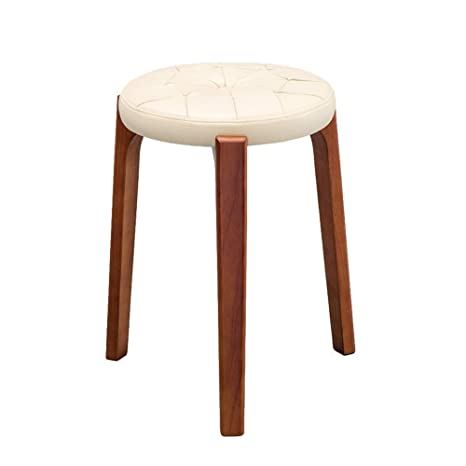 Excellent Amazon Com Zhangqiang Round Stool Sturdy Stool Chair Gmtry Best Dining Table And Chair Ideas Images Gmtryco