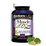 Natural Sleep Aid Muscle Ezze PM Plus Night Time Capsules Non-Habit Forming Sleeping Pill Relief with Melatonin, Valerian, Chamomile, Passion Flower, Lemon Balm Plus More Herbs and Botanicals
