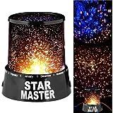 Luminária Projetora Star Master Abajur Estrelas Constelação