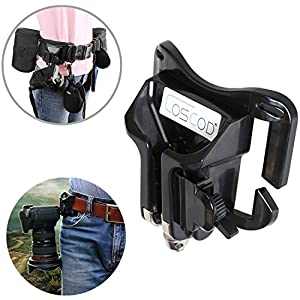 COSCOD Portable DSLR Camera Holster Belt, Camera Wrist Grip Strap
