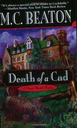 Download Death of a Cad (Hamish Macbeth Mysteries, No. 2) pdf epub