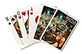 Gnomes in the City - Seattle, Washington (Playing Card Deck - 52 Card Poker Size with Jokers)