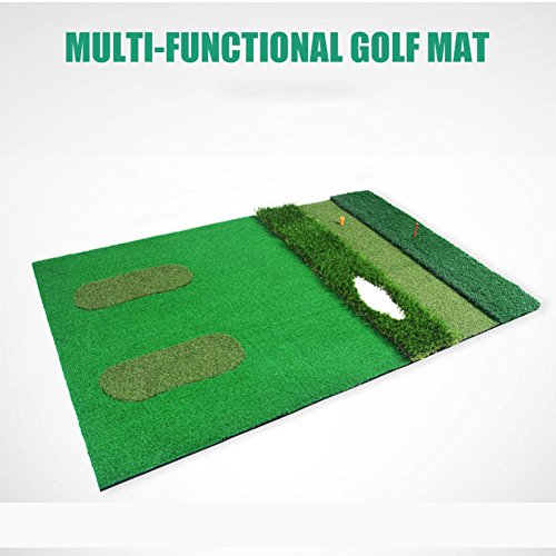 PGM Mutil-functional Golf Practice Mat Driving Range Golf Hitting Mat----3.3ftX4.92ft by PGM (Image #2)