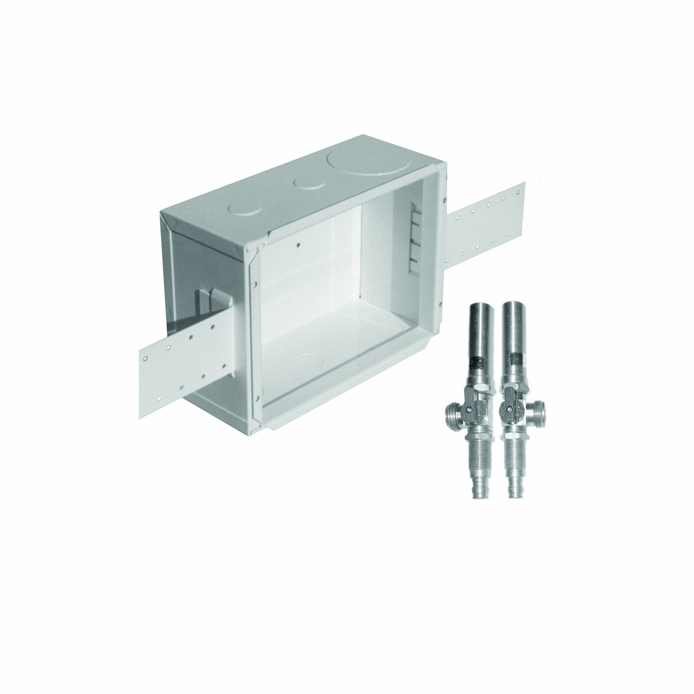 LSP OB-508 Unassembled Outlet Box with Mip Valve and Water Hammer, Metal