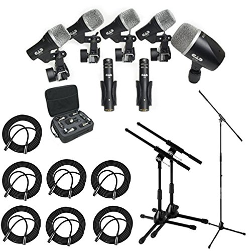 cad-audio-stage7-premium-7-piece-drum-instrument-mic-pack-with-vinyl-carrying-case-7-25-xlr-cables-m