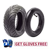 110/50-6.5 110-50-6.5 Tire and Inner Tube, Rear Wheel for 40cc 47cc 49cc Mini Pocket Bike Scooters Dirt Pit Bike