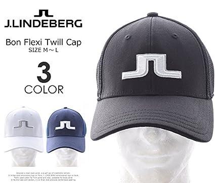 Image Unavailable. Image not available for. Colour  J.Lindeberg Bon Twill  Black Flexfit 59bb028239f9