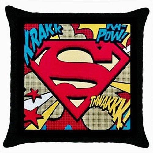 Superman Old Look Personalized Custom Zippered Pillow Case 16