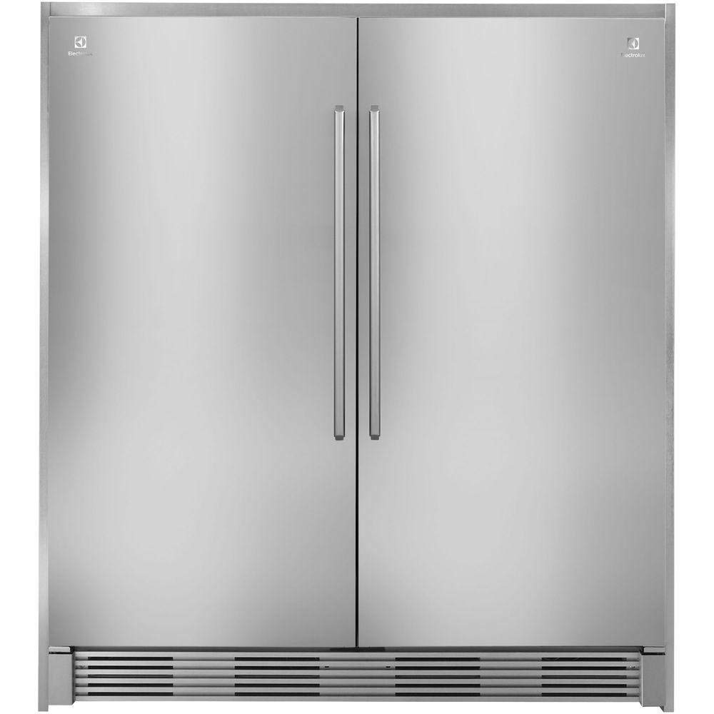 "Frigidaire Electrolux ECP7272SS 72"" Tall Stainless Steel Double Collar Trim"
