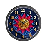 "CafePress - Horse Show Blue Ribbon Awards Wall Clock - Unique Decorative 10"" Wall Clock"