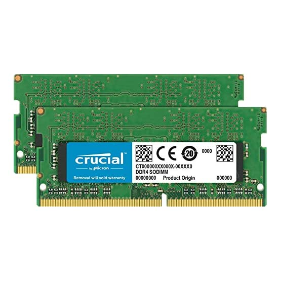 Crucial 16GB Kit (8GBx2) DDR4 2400 MT/s (PC4-19200) SR x8 SODIMM 260-Pin for Mac - CT2K8G4S24AM 519nlDcUp1L. SS555