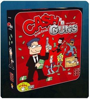 CASH N GUNS - SEGUNDA EDICION (EDICION EN ESPAÑOL): Amazon.es: Juguetes y juegos