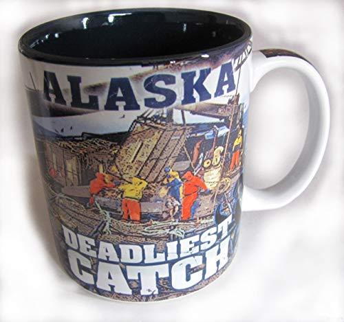 - Alaska's Deadliest Catch Mug, Deadliest Catch Merchandise, Alaska Crab Fishing Mug