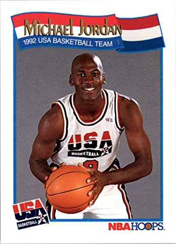1991-92 Hoops #579 Michael Jordan USA BASKETBALL Dream Team - NM-MT