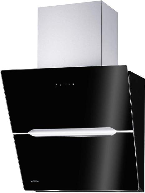 Oranier Vivio 60 S - 8676 60 Campana extractora de humos Negro campana de pared: Amazon.es: Grandes electrodomésticos