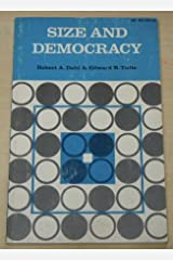Size and Democracy Paperback