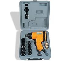 Chave de Impacto Pneumática Kit com Maleta e Soquetes I-320K Chiaperini