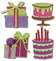 Jolee's Boutique Dimensional Stickers, Birthday Cakes and Presents