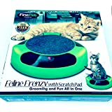 Feline Frenzy Cat Toy with Scratch Pad by FineLife