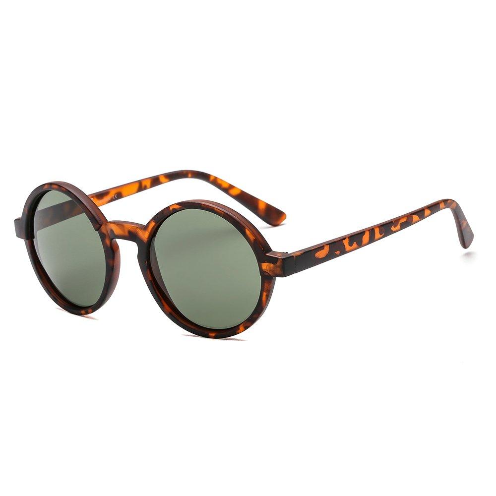 SUERTREE Polarized Round Small Sunglasses Women Men Vintage Shades Fashion Retro 80s90s Eyewear UV400 JH9006