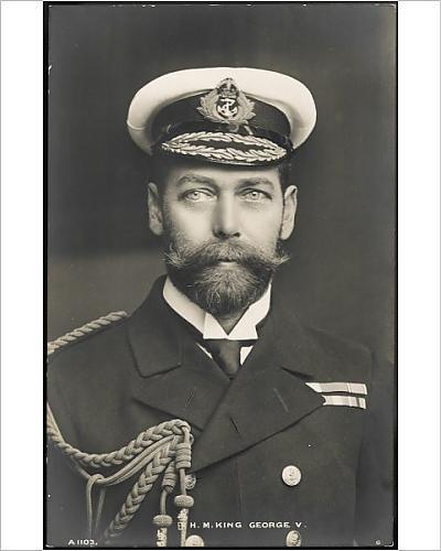 Photographic Print Of George V/postcard 1910