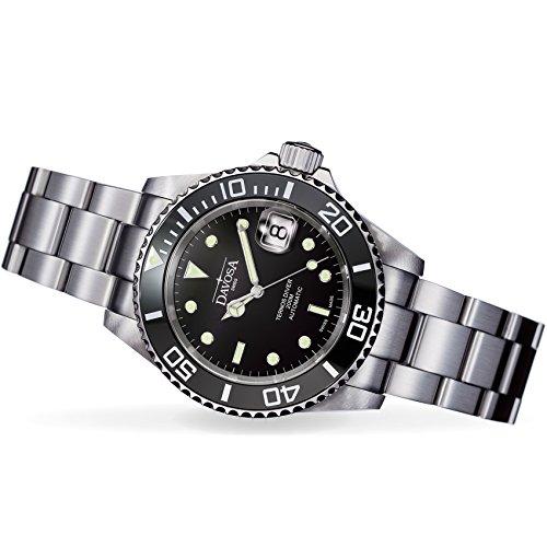 Davosa Swiss Made Men Wrist Watch, Ternos Ceramic 16155550 Professional Automatic Analog Display & Luxury Bezel by Davosa (Image #2)