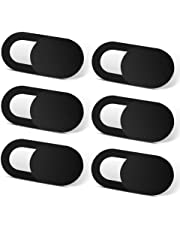 TechPrivacy Webcam Cover 6 pack, Black
