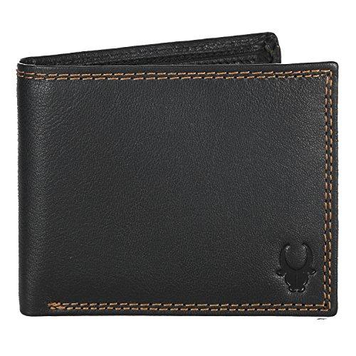 WildHorn Black Men's Wallet (WH218B)